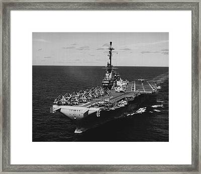 Airport On Water Framed Print by Retro Images Archive