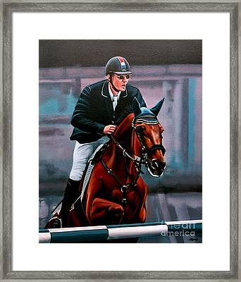 Albert Zoer And Sam Framed Print by Paul Meijering