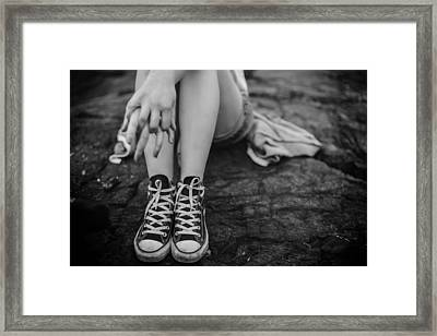 All Star Converse Framed Print by Mountain Dreams