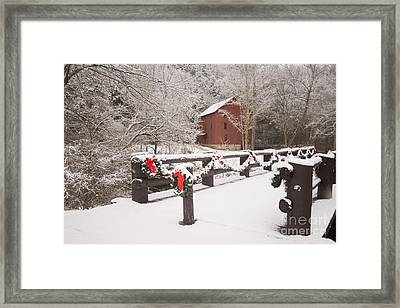 Alley Mill Framed Print by Reva Dow