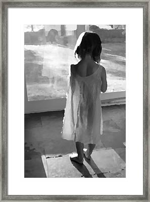 Alone Framed Print by Brooke Ryan