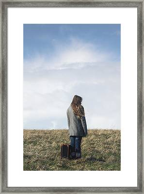 Alone Framed Print by Joana Kruse