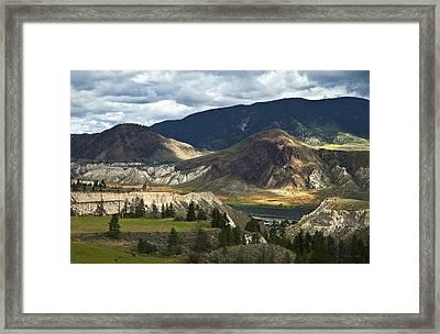 Along The River  Framed Print by Theresa Tahara