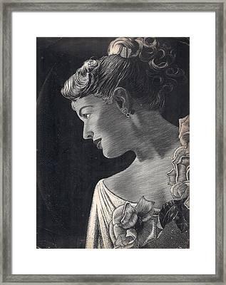 American Beauty Framed Print by Tulsidas Tilwe