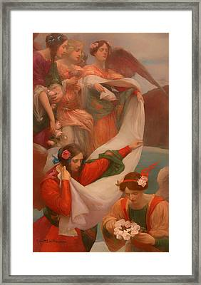 Angels Descending Framed Print by Mountain Dreams