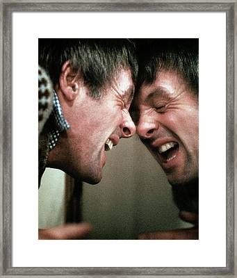 Anthony Hopkins In Magic  Framed Print by Silver Screen