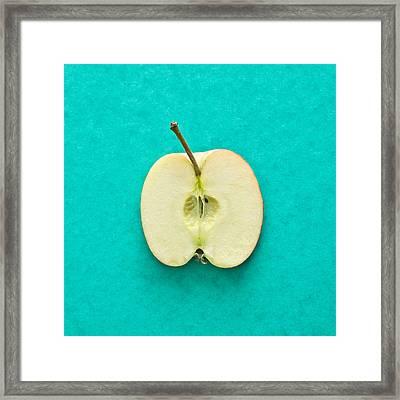 Apple Framed Print by Tom Gowanlock