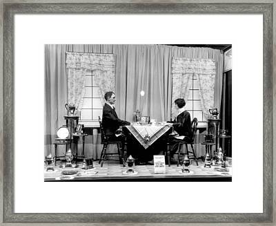 Appliances Window Display Framed Print by Underwood Archives