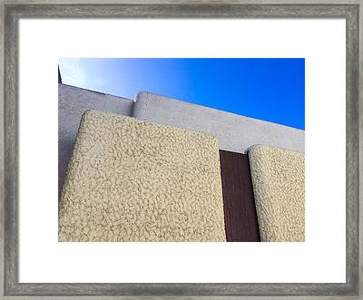 Architecture Abstract Framed Print by Joshua Rainey