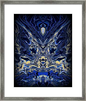 Art Series 8 Framed Print by J D Owen