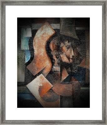 Artemis Daughter Of Zeus Framed Print by Val Byrne