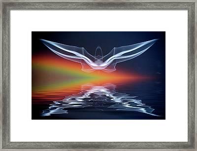 Artistic Creation Of Angel Or Spirit Framed Print by Jaynes Gallery