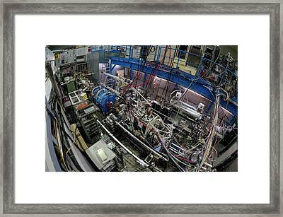 Asacusa Experiment At Cern Framed Print by Cern