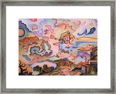 Ascension Framed Print by Aswell Rowe
