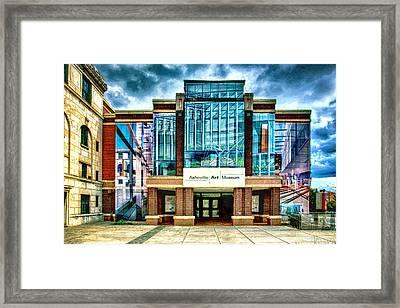 Asheville Art Museum Framed Print by John Haldane
