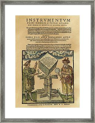 Astronomers, 1533 Framed Print by Granger