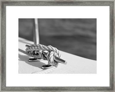 At Sea Framed Print by Laura Fasulo