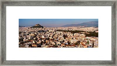 Athens, Greece Framed Print by Panoramic Images