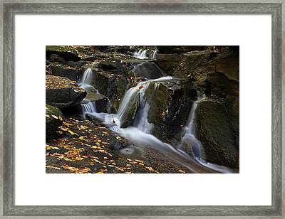 Autumn In New England Framed Print by Juergen Roth