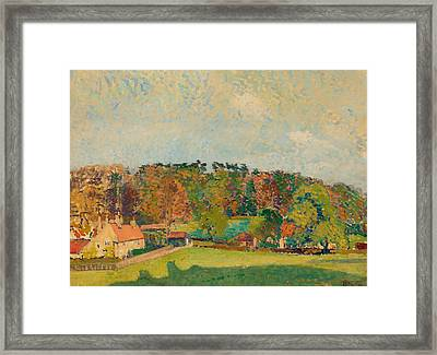 Autumn In Sussex Framed Print by Mountain Dreams