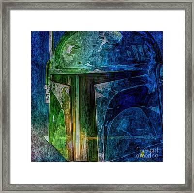 B Fett Framed Print by Christina Perry