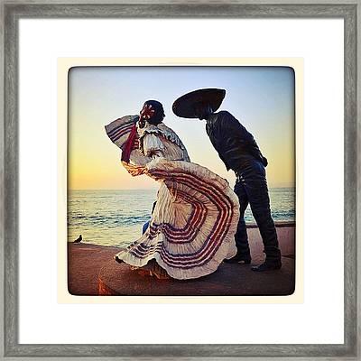 'bailarines De Vallarta' By Jim Demetro Framed Print by Natasha Marco