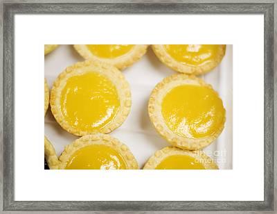 Baked Lemon Tarts Framed Print by Jorgo Photography - Wall Art Gallery