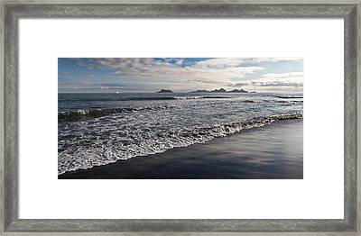 Bakkafjara Beach, South Coast, Iceland Framed Print by Panoramic Images