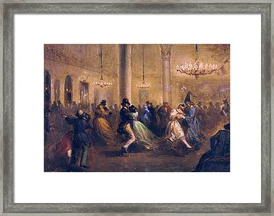 Balaca Y Orejas-canseco, Ricardo Framed Print by Everett