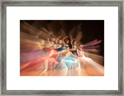 Ballet Framed Print by Okan YILMAZ
