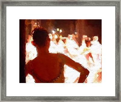 Ballet Framed Print by Steve K