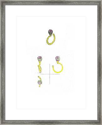 Balloons Ring Framed Print by Giuliano Capogrossi Colognesi