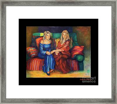 The Forgotten Gloves...... Framed Print by Dagmar Helbig