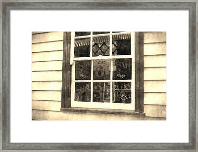 Barber Shop Bangor : barber shop framed print by andrew hunt setting up your barber shop on ...