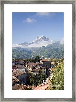 Barga, Italy Framed Print by Sheila Terry