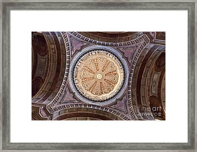 Baroque Church Cupola Dome Framed Print by Jose Elias - Sofia Pereira