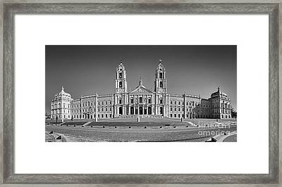Baroque Convent Framed Print by Jose Elias - Sofia Pereira