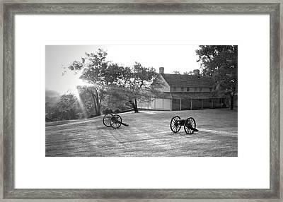 Battle Grounds Framed Print by David Troxel