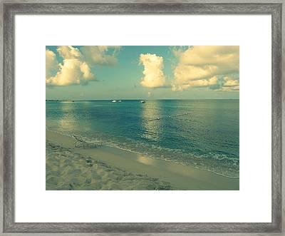 Beach Day Framed Print by Patricia Awapara