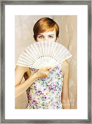Beautiful Secret Framed Print by Jorgo Photography - Wall Art Gallery