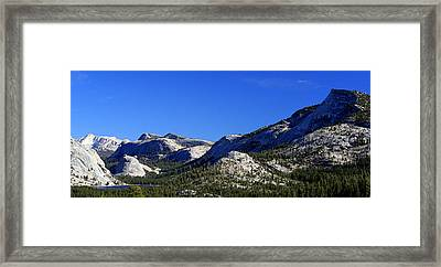 Beautiful Sierras Framed Print by Lynn Bawden