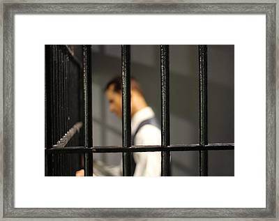 Behind Bars Framed Print by Dan Sproul