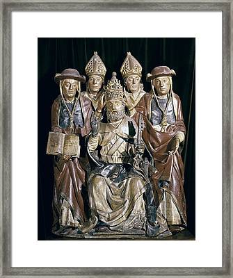 Benedict Xiii. Antipope, Born Pedro De Framed Print by Everett