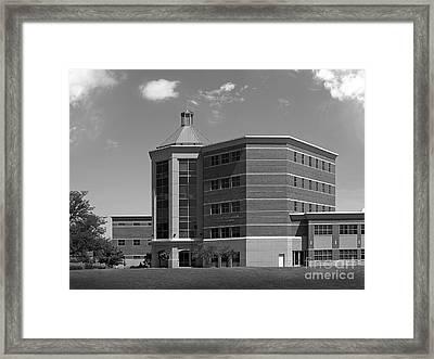 Benedictine University Kindlon Hall Framed Print by University Icons