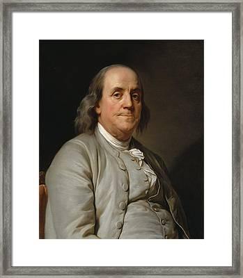 Benjamin Franklin Framed Print by Mountain Dreams