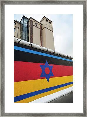 Berlin Wall Framed Print by Ton Kinsbergen