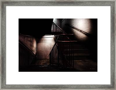 Between Here And There Framed Print by Bob Orsillo