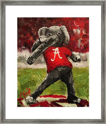 Big Al Framed Print by Carole Foret