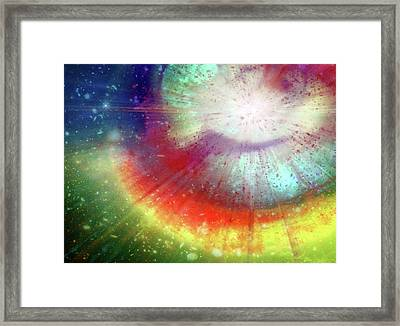Big Bang Framed Print by Detlev Van Ravenswaay
