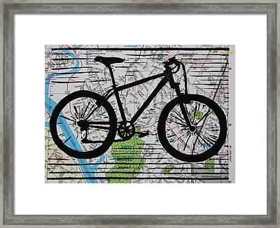 Bike 10 Framed Print by William Cauthern